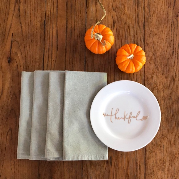 Home Other - Set of 8 Sage Green Cotton Napkins